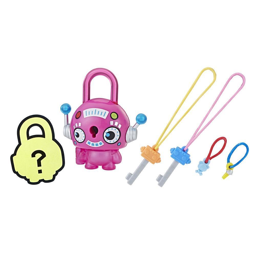 Personaj Lock Stars Robot Roz - Seria 1 (Gama de produse poate varia)