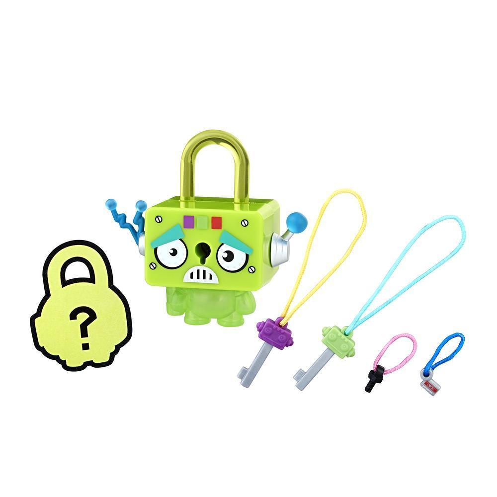 Personaj Lock Stars Robot Verde - Seria 2 (Gama de produse poate varia)