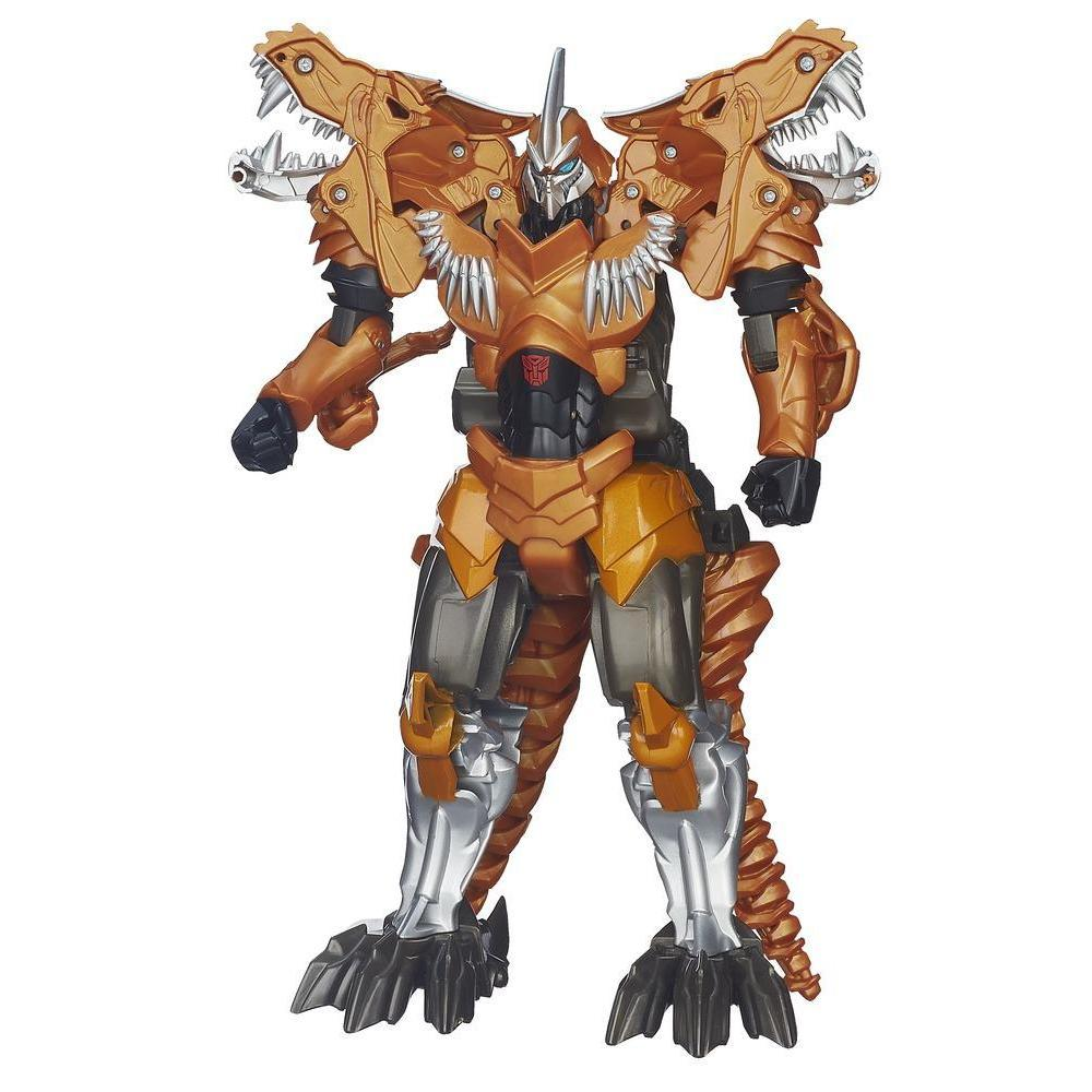 "Figurina Grimlock Transformers Age of Extinction ""Flip and Change"