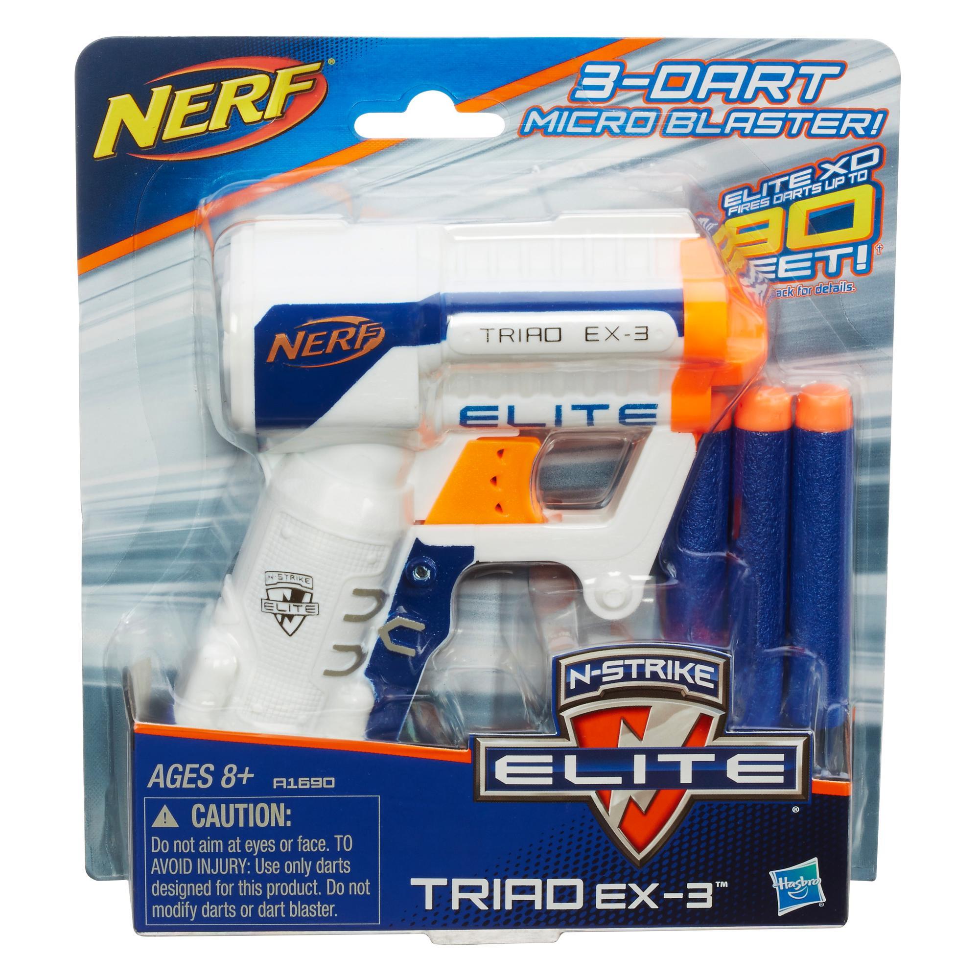 Blaster NERF N-Strike Elite Triad EX3