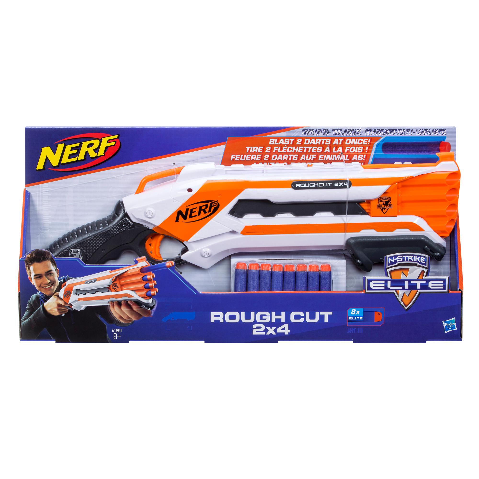 Blaster NERF N-Strike Elite Rough Cut 2x4