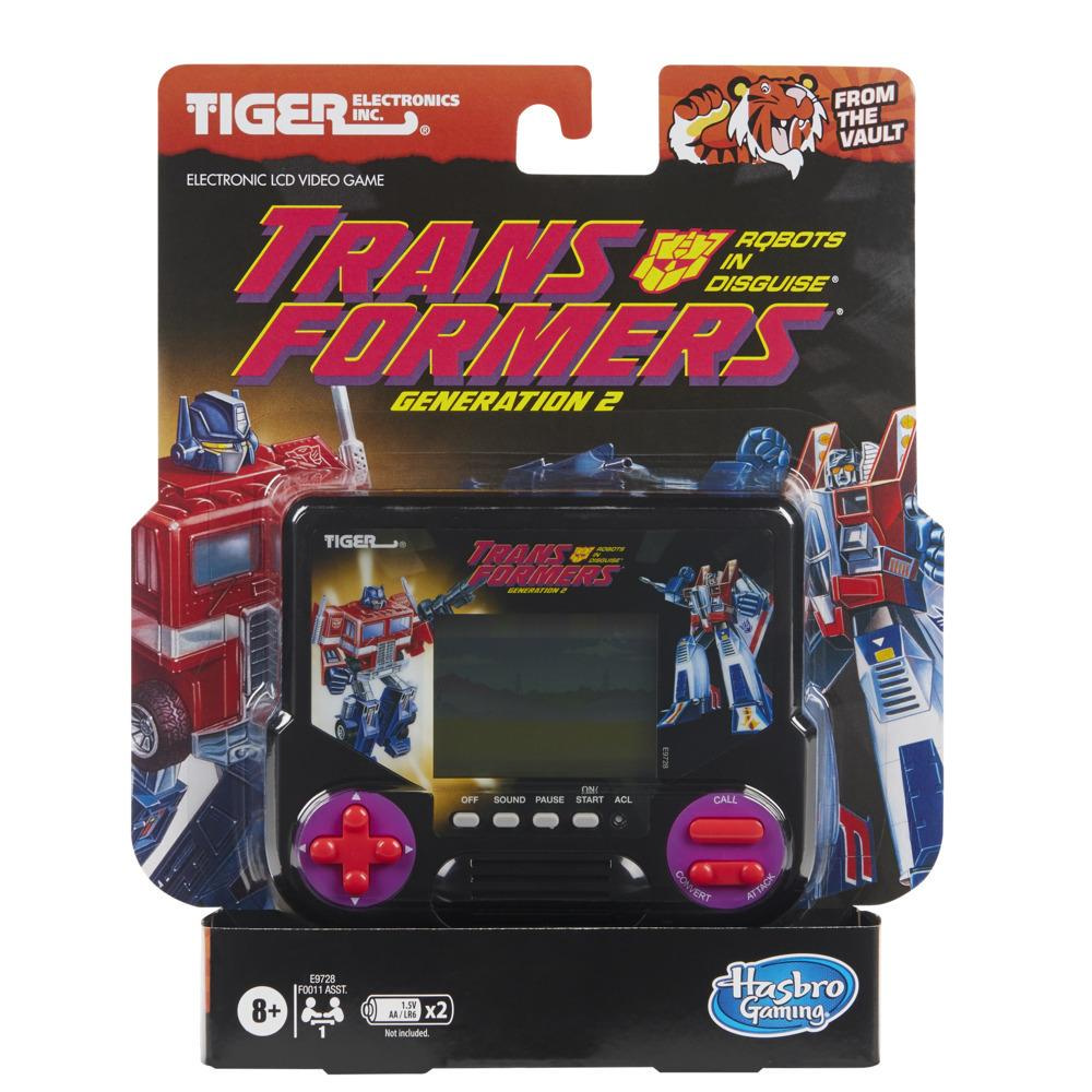 Jocul video LCD electronic Tiger Electronics Transformers Generation 2