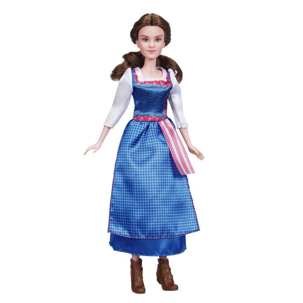 Păpușă Belle cu rochie de zi, Beauty and the Beast