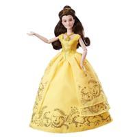 Păpușă Belle în rochie de bal fermecată, Beauty and the Beast