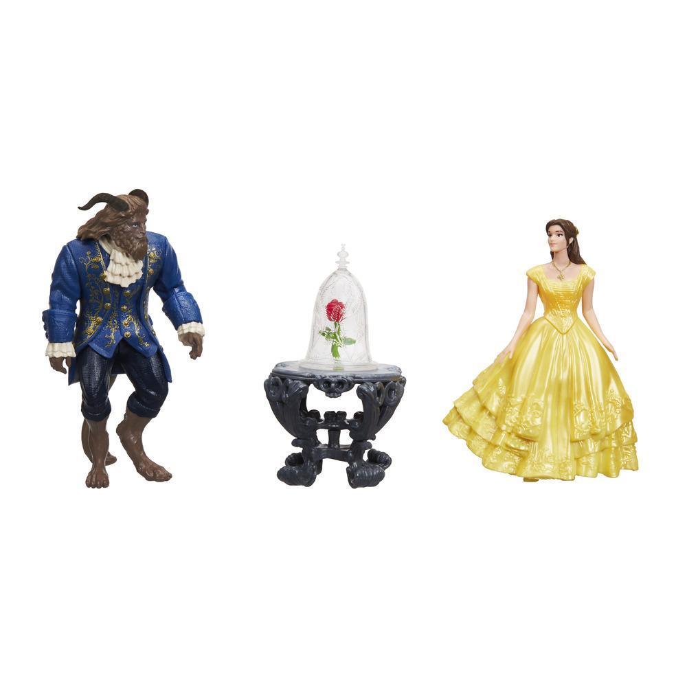Scena trandafirului vrăjit, Beauty and the Beast