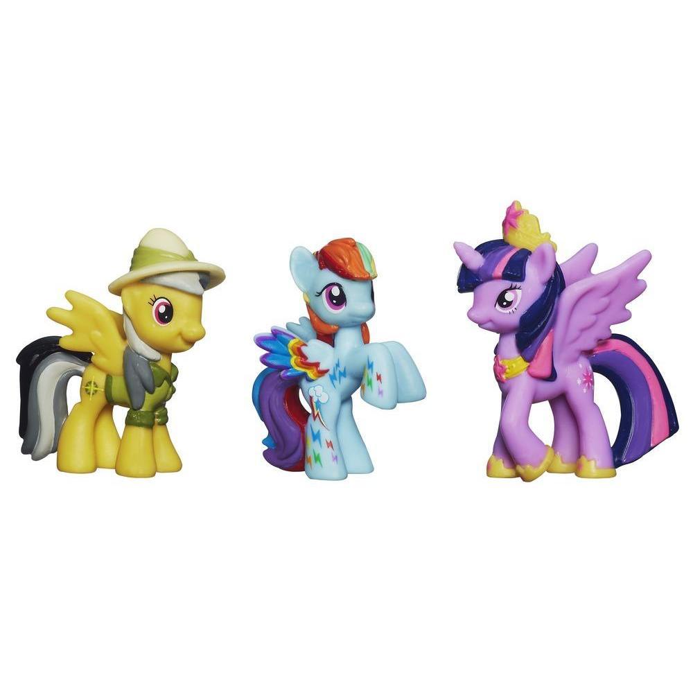Mini-colectie de 3 figurine
