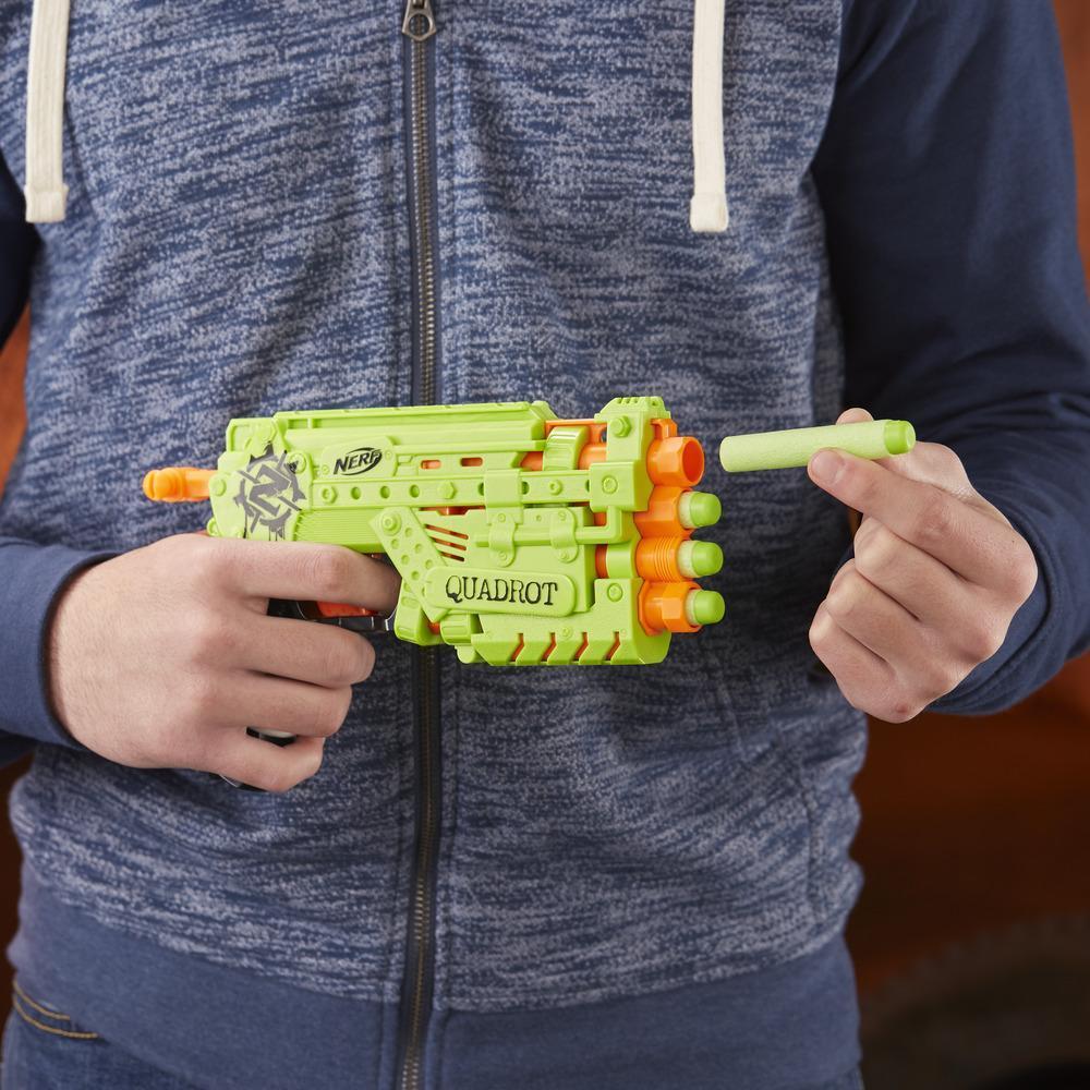 Blaster NERF Zombie Strike Quadrot