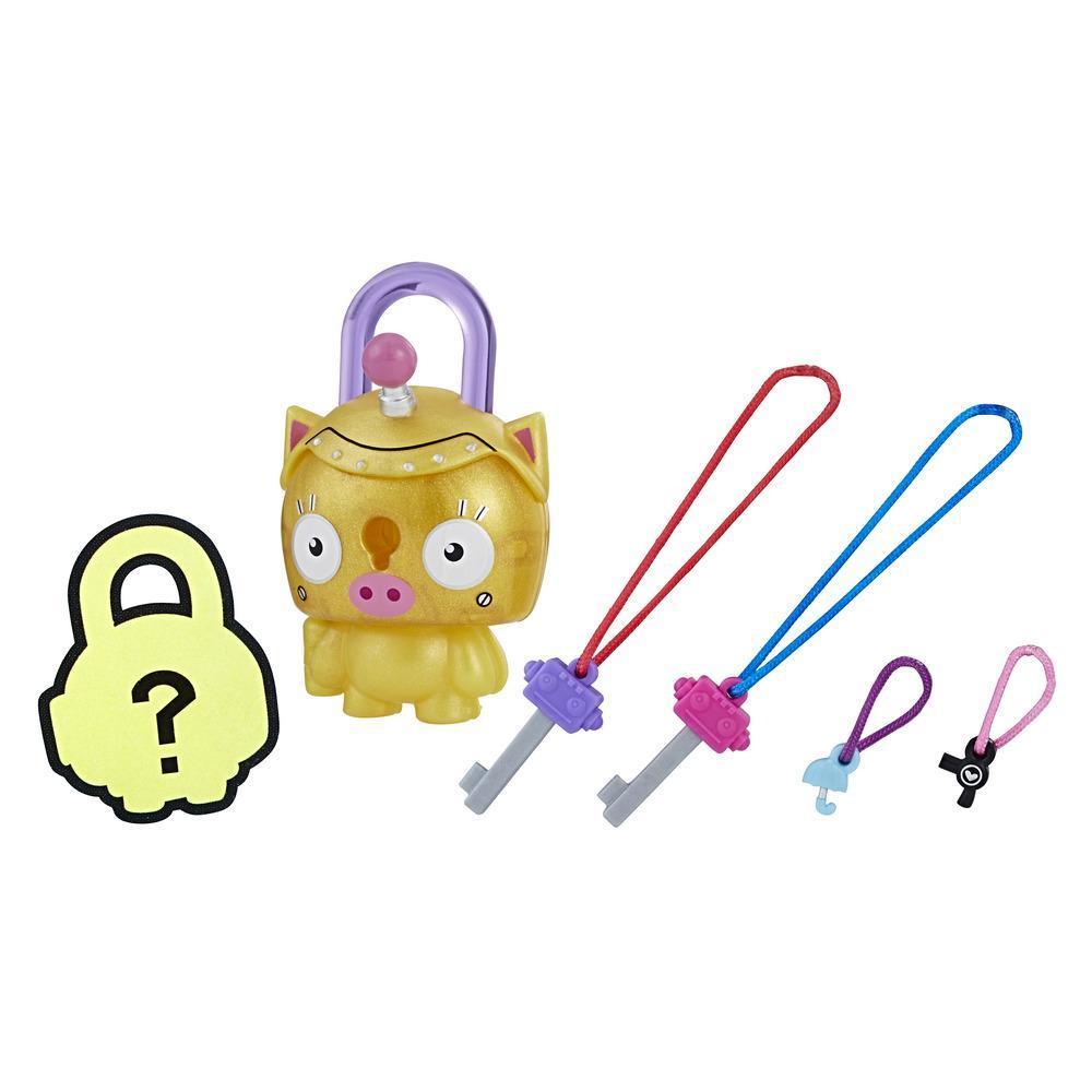 Personaj Lock Stars Gold Piggy - Seria 1 (Gama de produse poate varia)