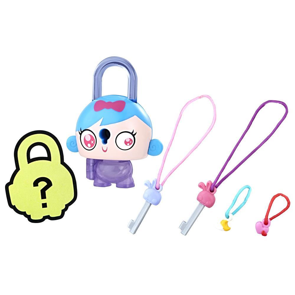 Personaj Lock Stars Fata cu Parul Albastru - Seria 2 (Gama de produse poate varia)