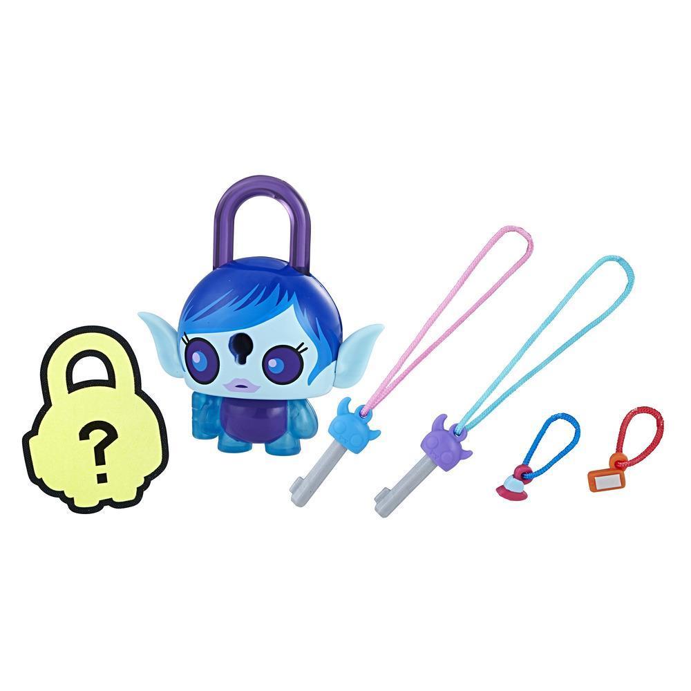 Personaj Lock Stars Blue Alien Girl - Seria 1 (Gama de produse poate varia)