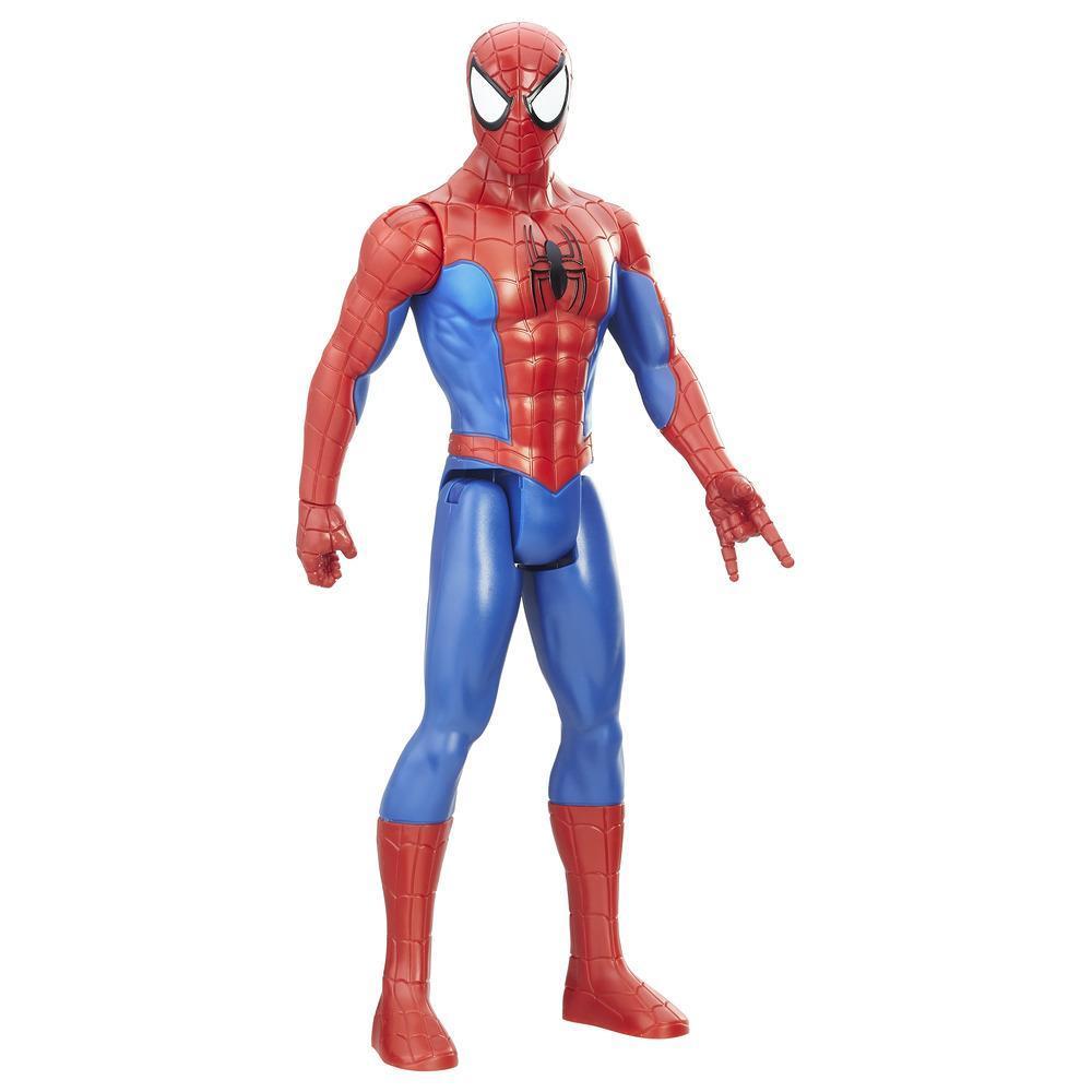 Figurina Spider-Man de 30 de cm din seria Titan Hero Series de la Marvel
