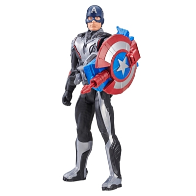 Figurina Titan Hero Power FX Captain America, 30 cm