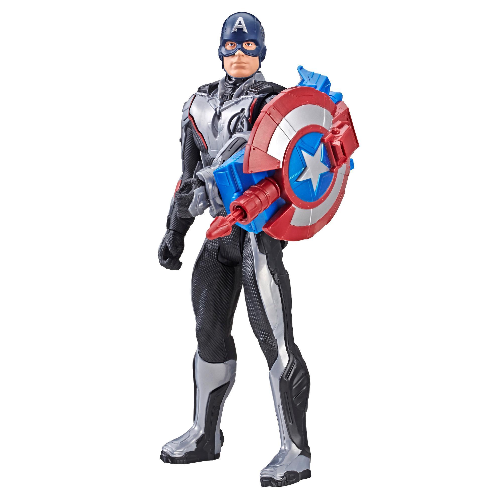 Figurina Titan Hero Power FX Captain America, 30 cm