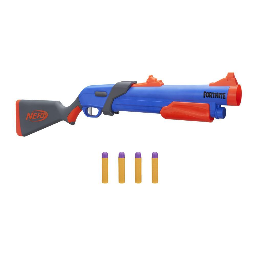 Blaster SG cu actionare prin pompa Nerf Fortnite