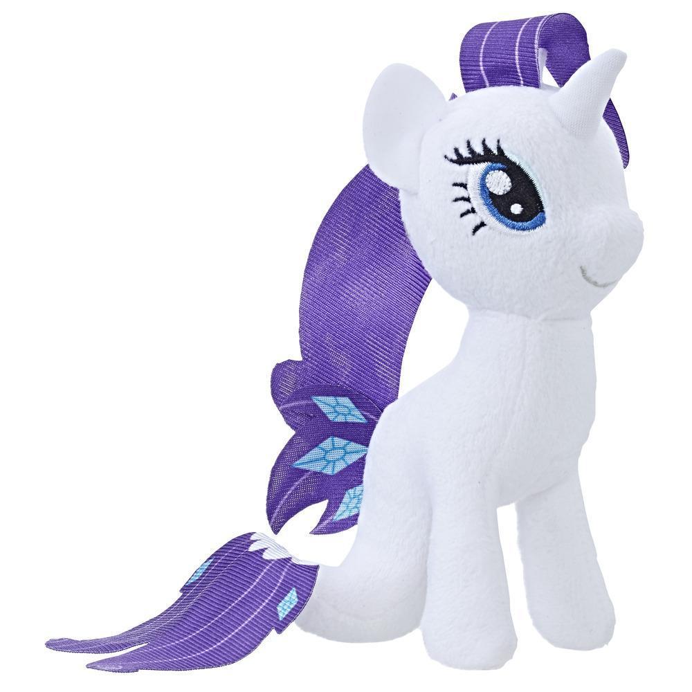 Pluș mic Rarity ponei de mare din filmul My Little Pony