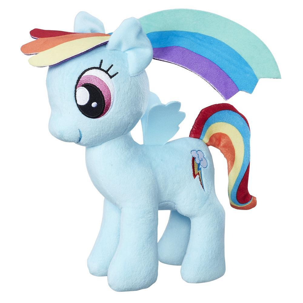 Ponei pluș moale 23 cm, Rainbow Dash, My Little Pony, Friendship is Magic