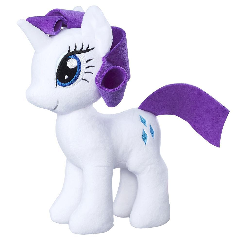 Ponei pluș moale 23 cm, Rarity, My Little Pony, Friendship is Magic