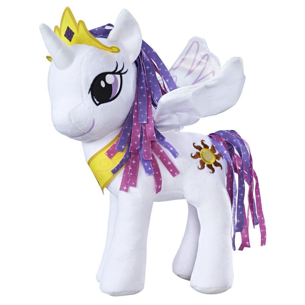 Ponei pluș cu aripi 30 cm, Prințesa Celestia, My Little Pony, Friendship is Magic