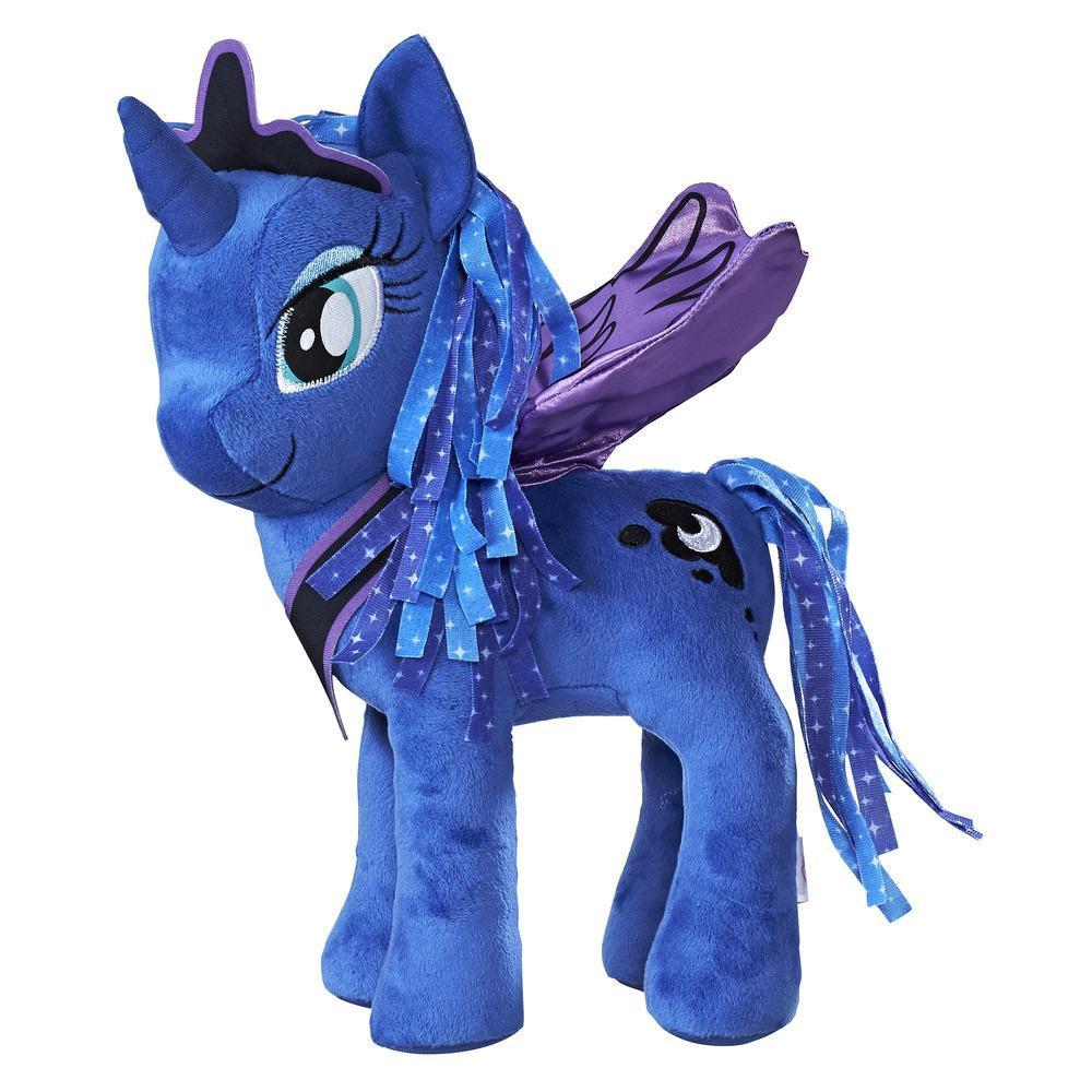 Ponei pluș cu aripi 30 cm, Prințesa Luna, My Little Pony, Friendship is Magic