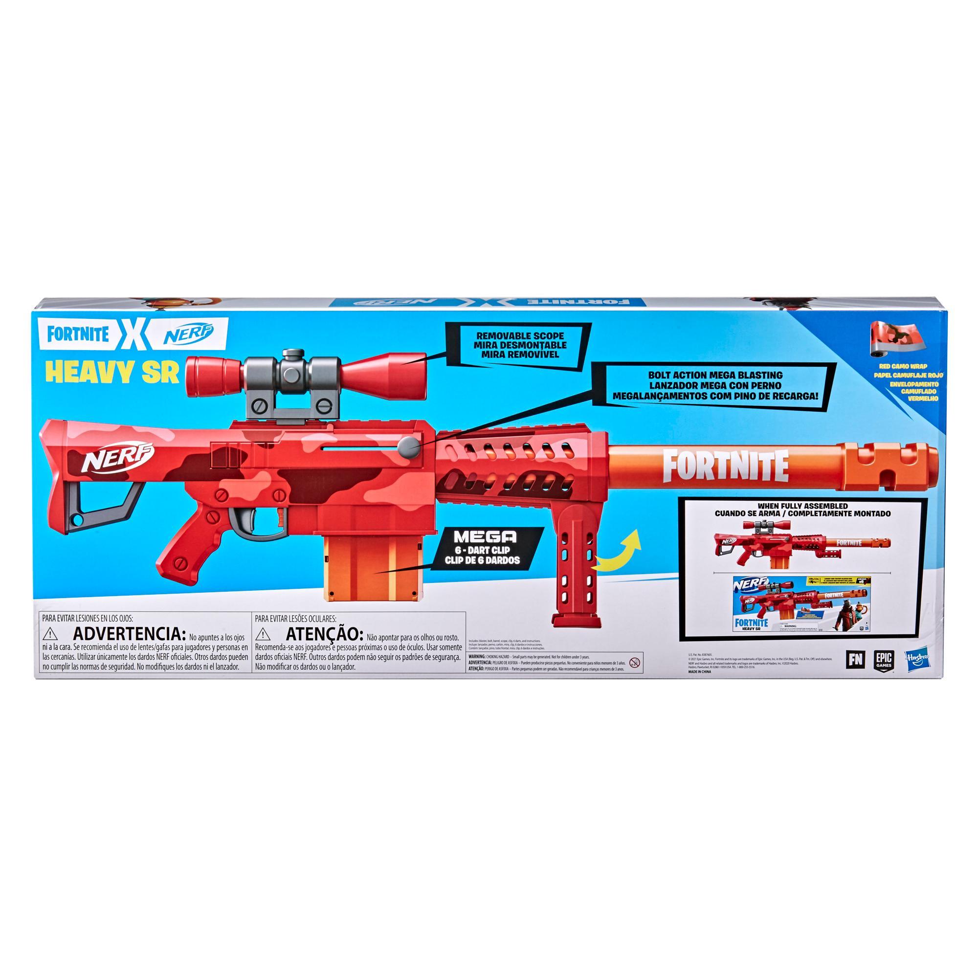 Blaster Nerf X Fortnite Heavy SR