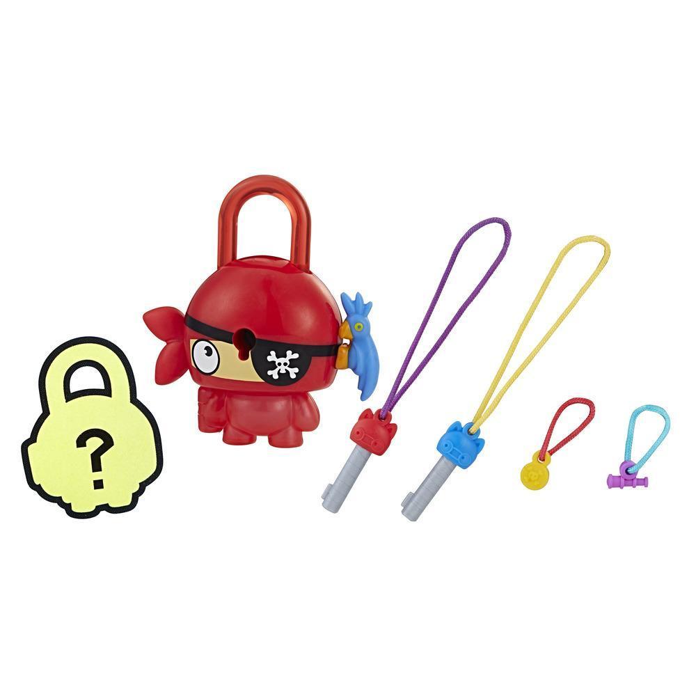 Personaj Lock Stars Red Pirate - Seria 1 (Gama de produse poate varia)