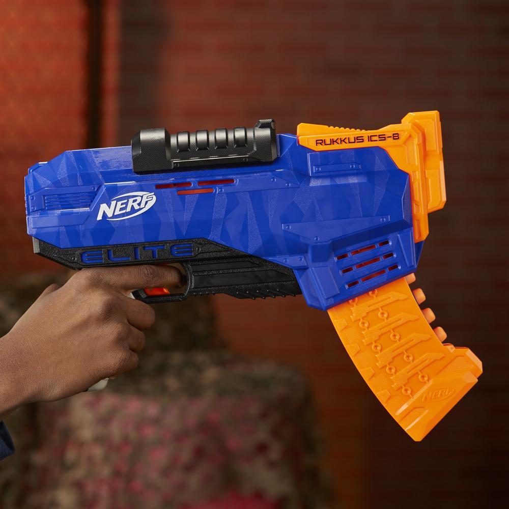 Blaster NERF N-Strike Elite Rukkus ICS 8
