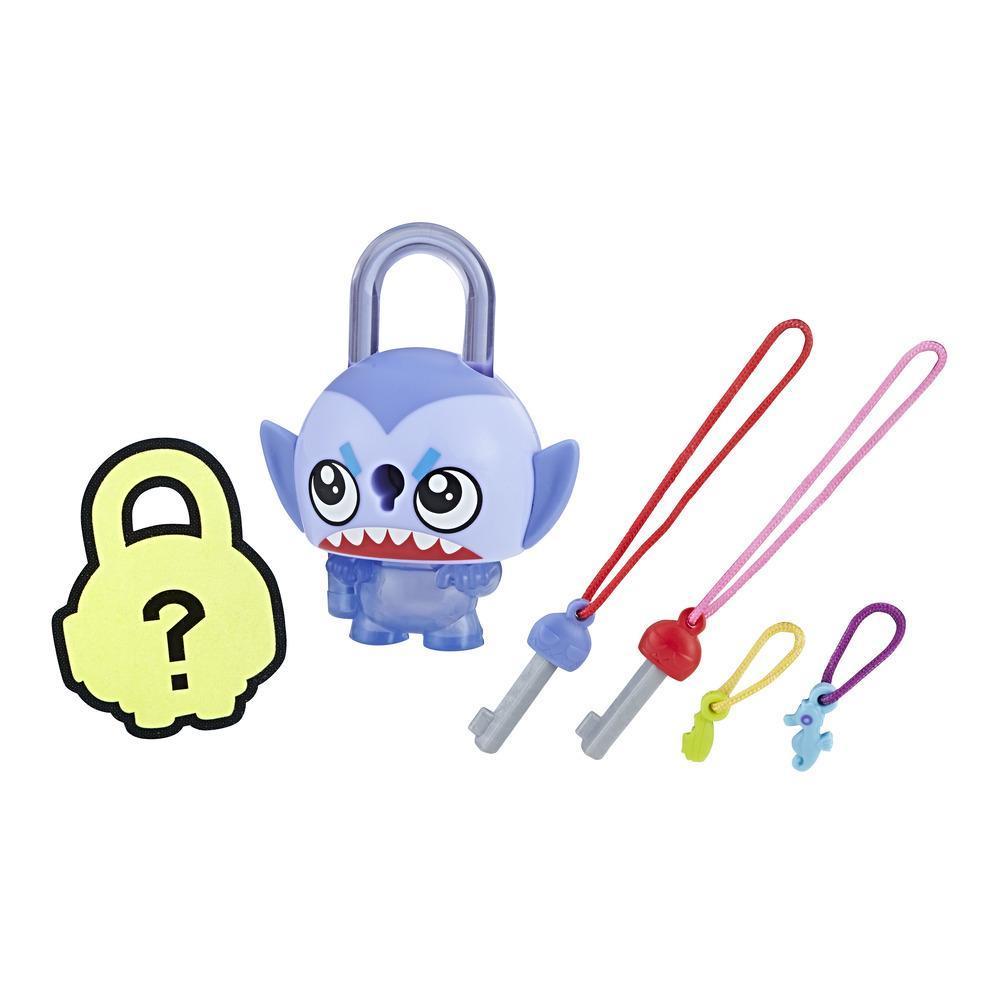 Personaj Lock Stars Rechin Albastru - Seria 2 (Gama de produse poate varia)