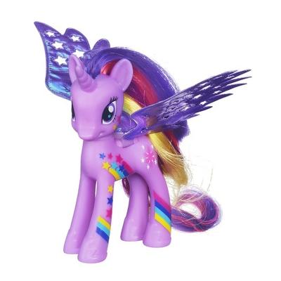 Figurina Printesa Twilight Sparkle, cu aripi stralucitoare