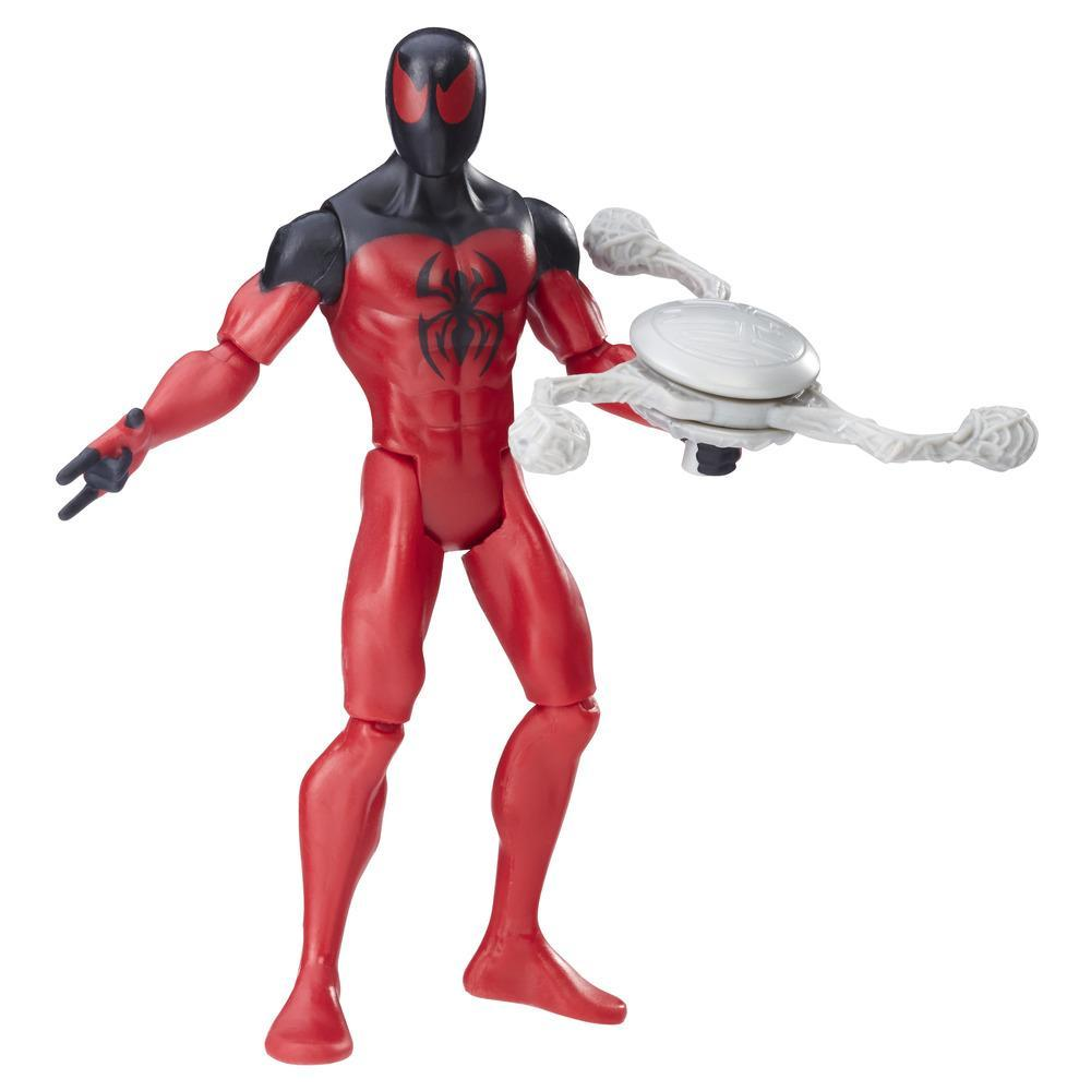 Figurină Spider Scarlet de 15 cm din seria Spider-Man de la Marvel