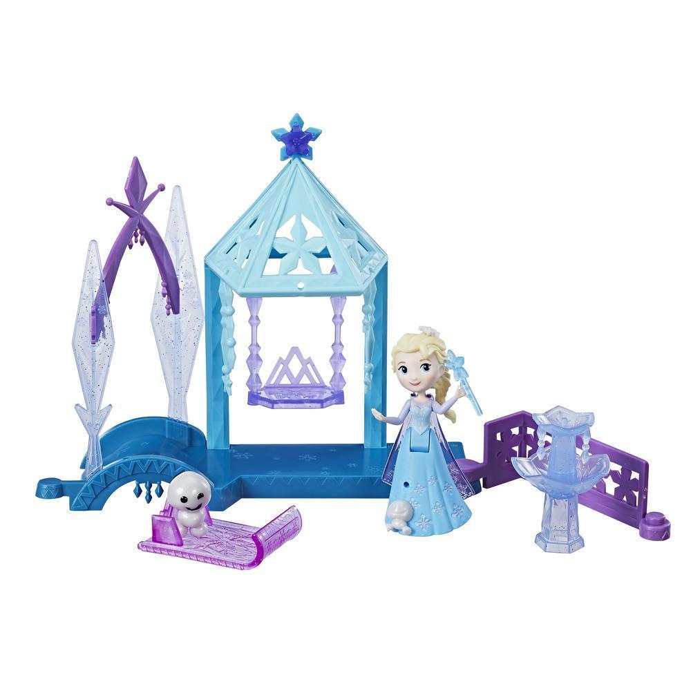 Игровой набор маленькие куклы Холодное Сердце (кукла и домик)