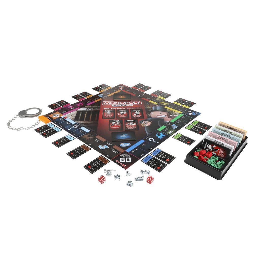 Игра настольная Монополия Большая афера MONOPOLY E1871