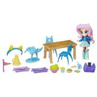 Набор мини-кукол Флаттершай «Школьное кафе» из серии «Мой маленький пони/Девочки из Эквестрии»