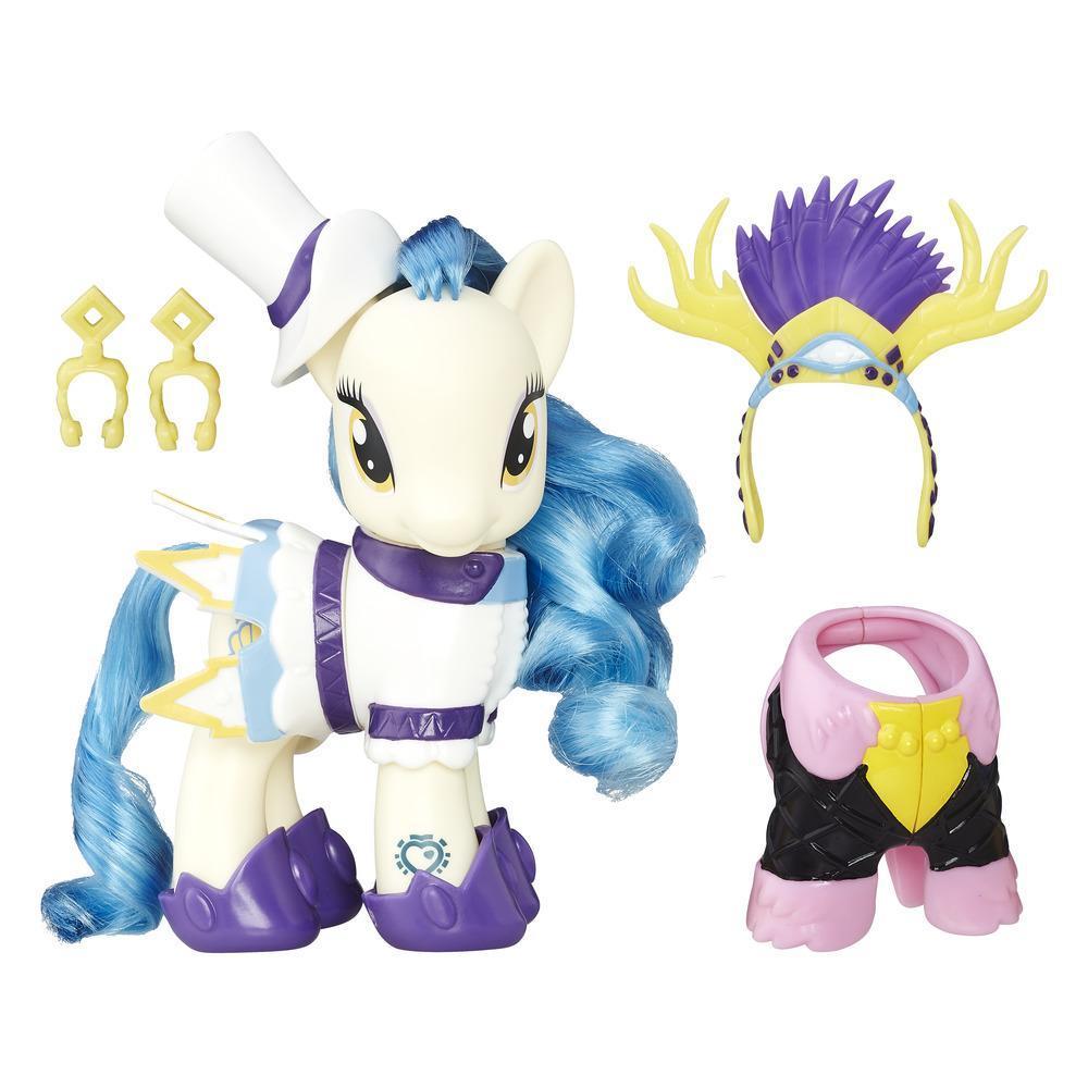 Шестидюймовая фигурка пони Сапфир Шорс из серии «Мой маленький пони Каникулы в Эквестрии Модный стиль»