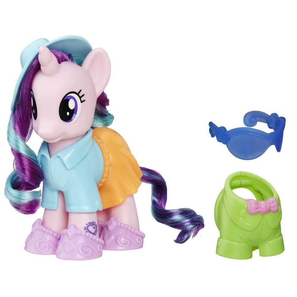 Шестидюймовая фигурка пони Старлайт из серии «Мой маленький пони Каникулы в Эквестрии Модный стиль»