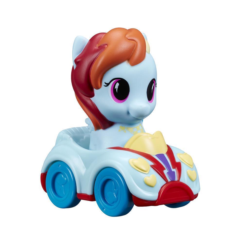 Набор игровой Май Литтл Пони Пони и автомобиль Радуга Дэш MY LITTLE PONY B6284