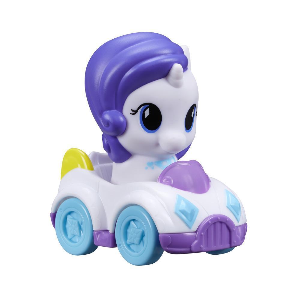 Набор игровой Май Литтл Пони Пони и автомобиль Рарити MY LITTLE PONY B6285