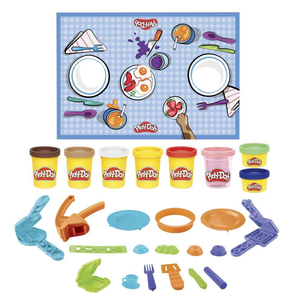 Набор игровой подарочный Плей-До Китчен Криэйшнс Утреннее кафе PLAY-DOH Kitchen Creations F2771