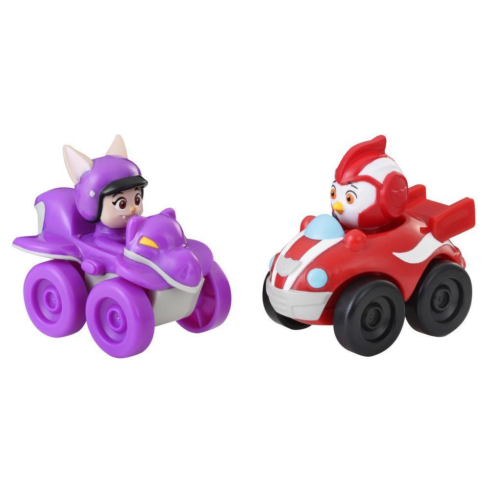 Игровой набор Отважные птенцы фигурка в машине Род и Бетти TOP WING E5351