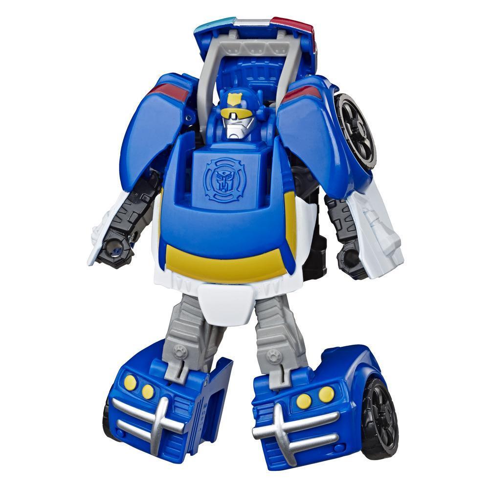 Игрушка-трансформер Трансформеры Академия ботов-спасателей Чейз TRANSFORMERS E5693