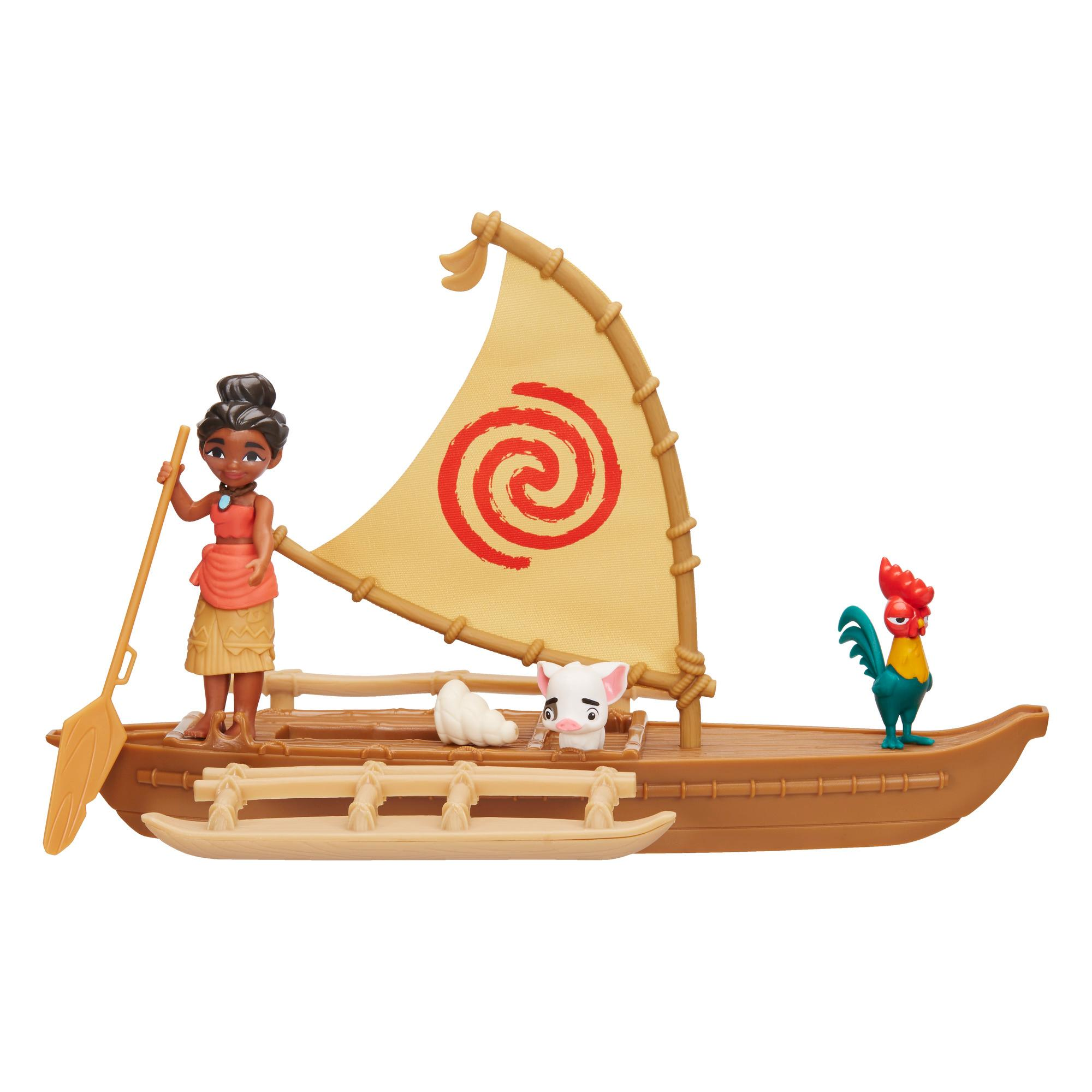 Набор игровой Принцессы Дисней Моана и лодка DISNEY PRINCESS B8303