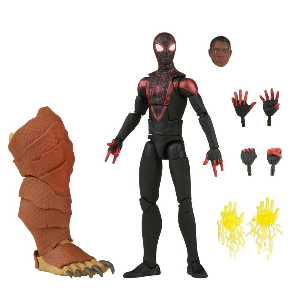 Фигурка премиальная коллекционная серии Легенд 15 см Майлз Моралес Spider-Man Marvel Legends F3024