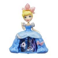 Маленькая кукла принцесса Золушка в платье с волшебной юбкой