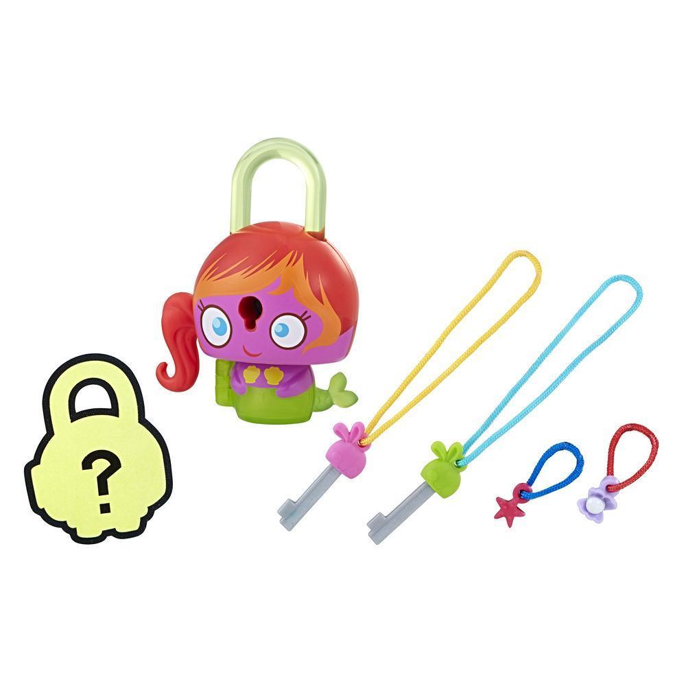Набор замочки с секретом фиолетовая русалка (E3165) Lock Stars, Hasbro