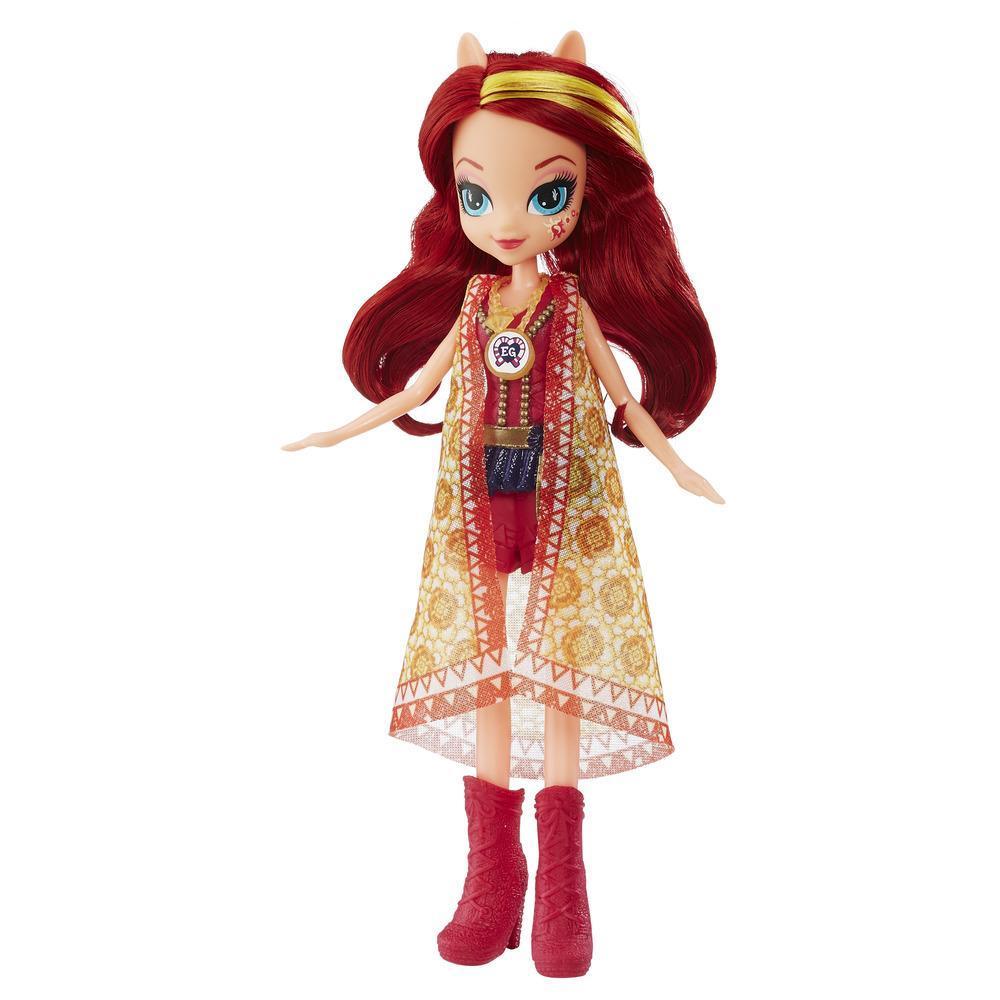 Кукла Сансет Шиммер из серии «Мой маленький пони Девочки из Эквестрии Легенда Эверфри»