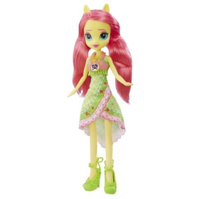 Кукла Флаттершай из серии «Мой маленький пони Девочки из Эквестрии Легенда Эверфри»
