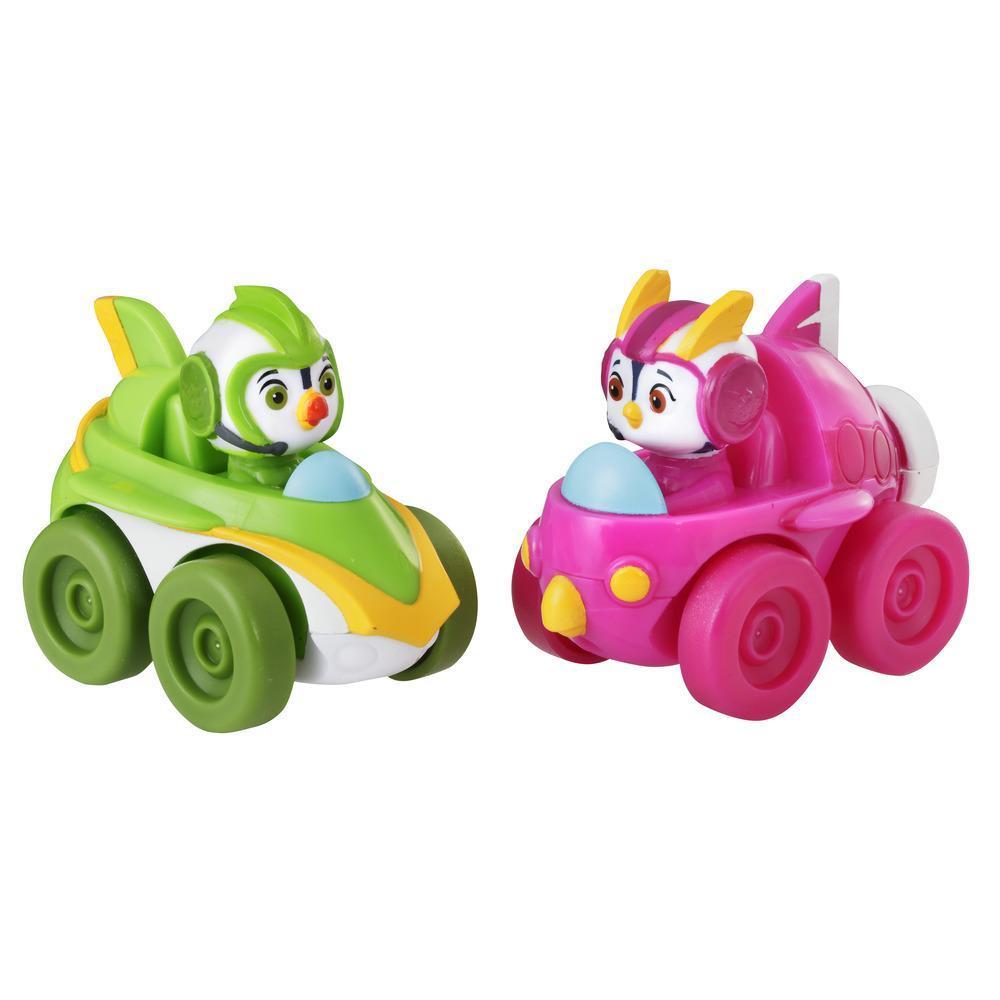 Игровой набор Отважные птенцы фигурка в машине Броуди и Пенни TOP WING E5352