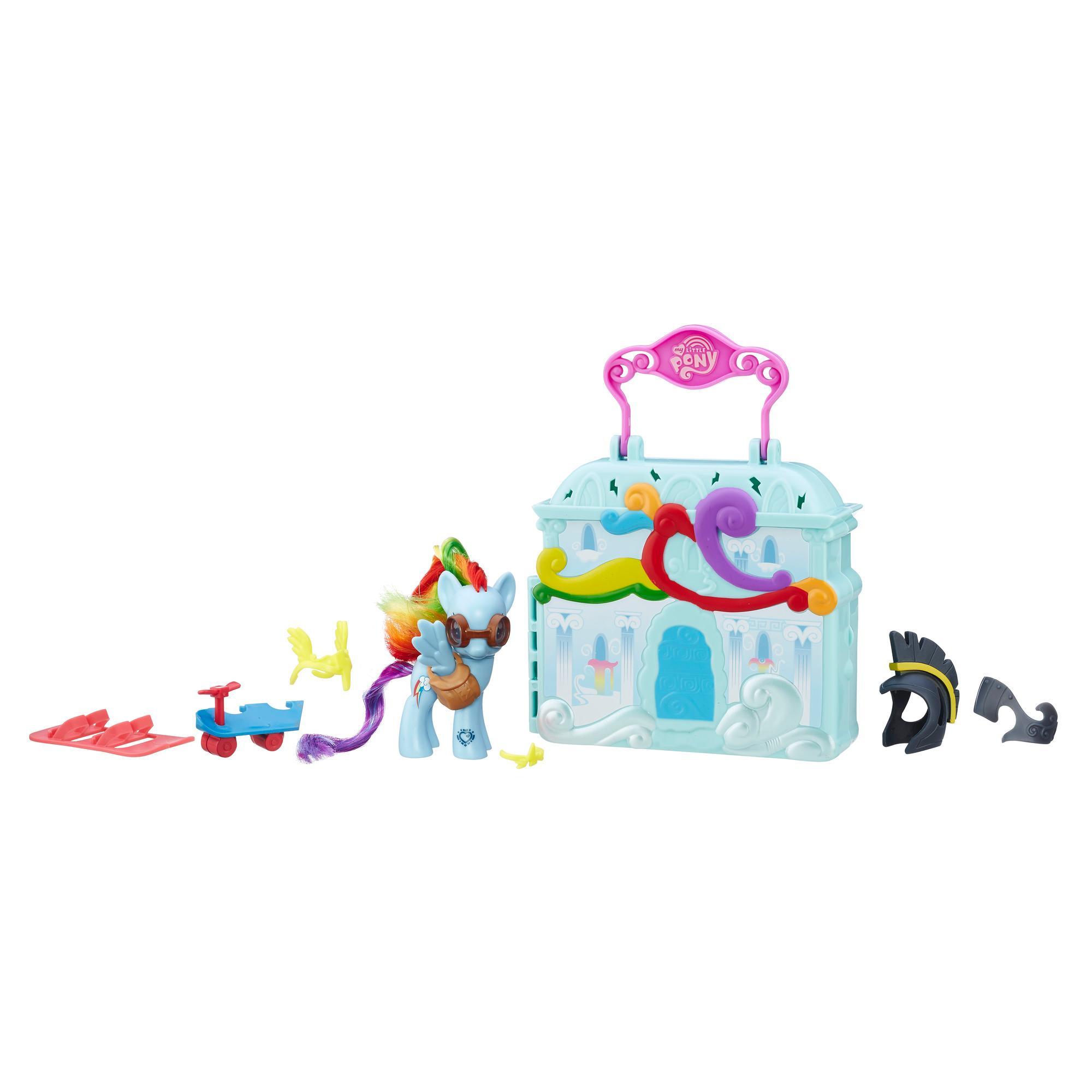 Игровой набор «Клаудоминиум» с фигуркой Рейнбоу Дэш из серии «Мой маленький пони/Дружба - это чудо!»