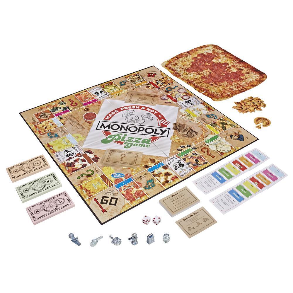 Игра настольная Монополия Пицца MONOPOLY E5798