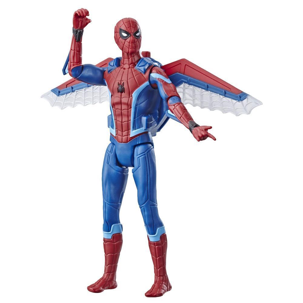 Игрушка Человек-паук Фигурка из фильма 15 см Человек паук с планерным снаряжением SPIDER-MAN E4120