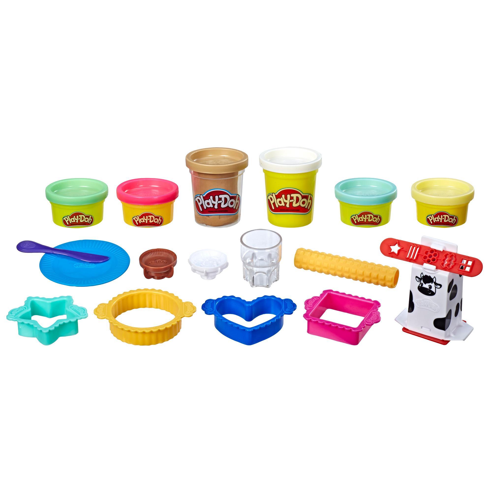 Набор Плей-До Забавные закуски Молоко и печенье PLAY-DOH E5471